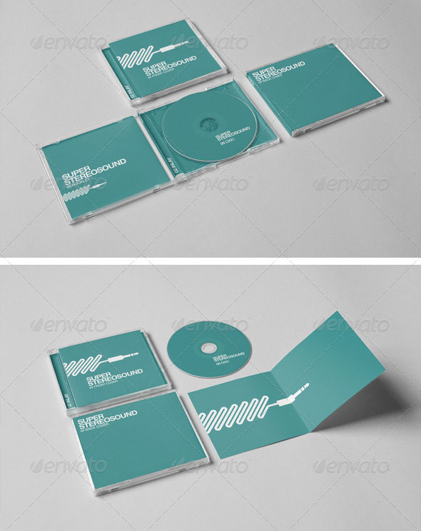 25 Best Premium PSD CD/DVD Cover Mockup Templates | Web & Graphic ...