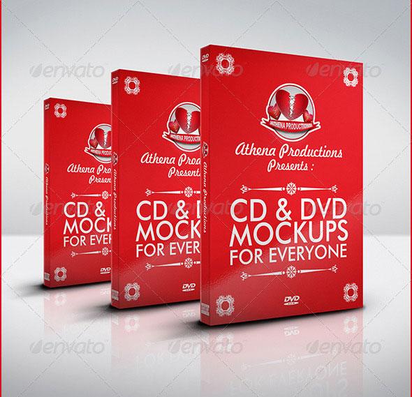 CD/DVD Mockups V.1