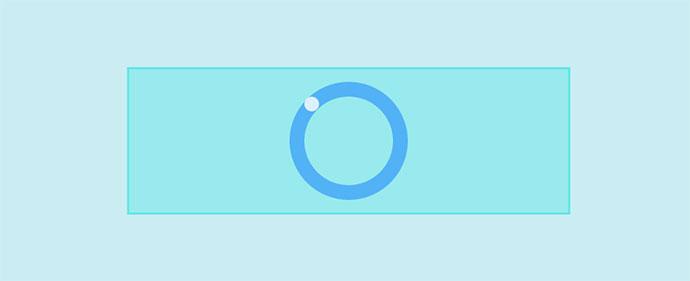 Zero element loading animations