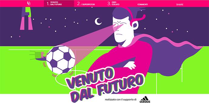 Gareth Bale comes from the future