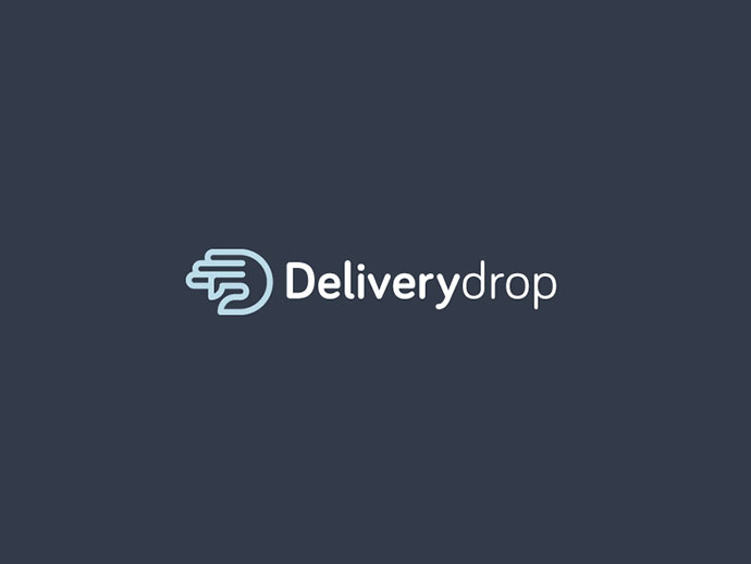 Deliverydrop Logo Design