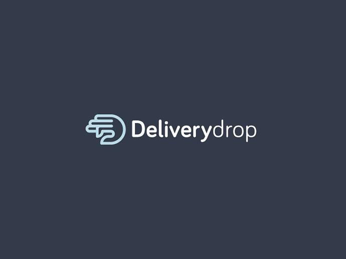 Deliverydrop Logo Design