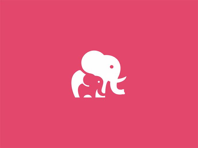 Unused Elephant Mark / Icon / Logo Design Concept