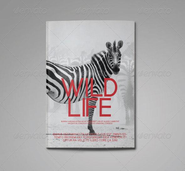 Wild Life Magazine Template