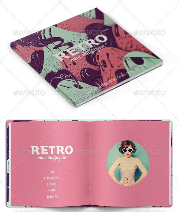 Retro Mini Magazine