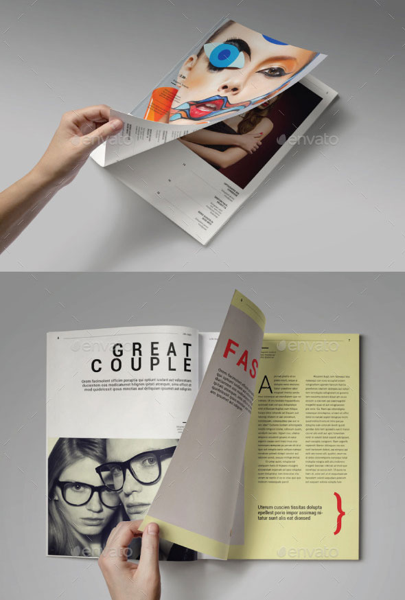 Lifestyle Magazine Template