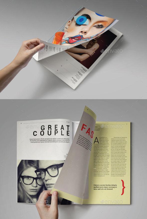 Lifestyle Magazine Template