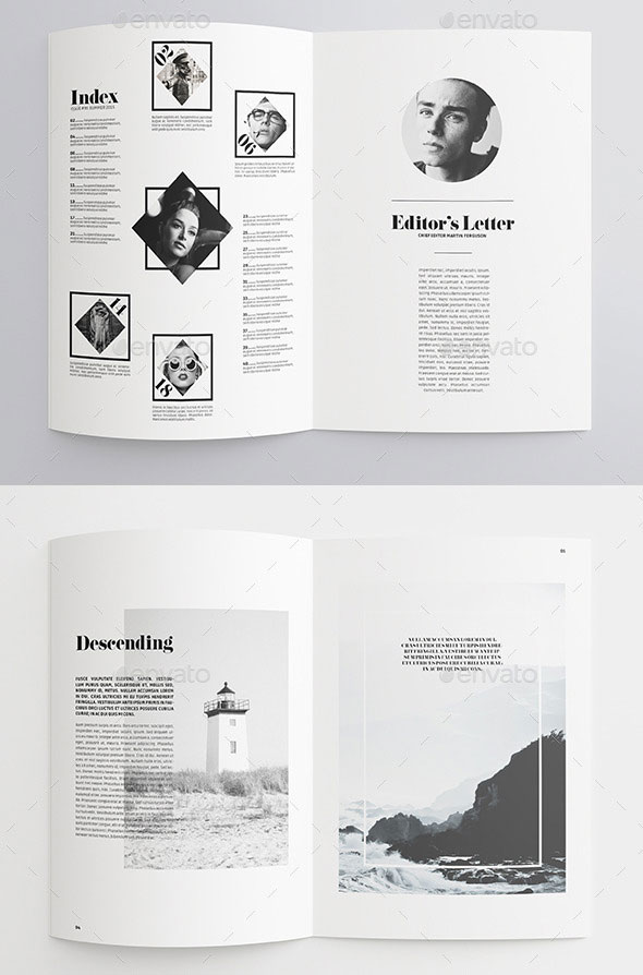 35 best magazine template designs web graphic design for Magazine templates for pages