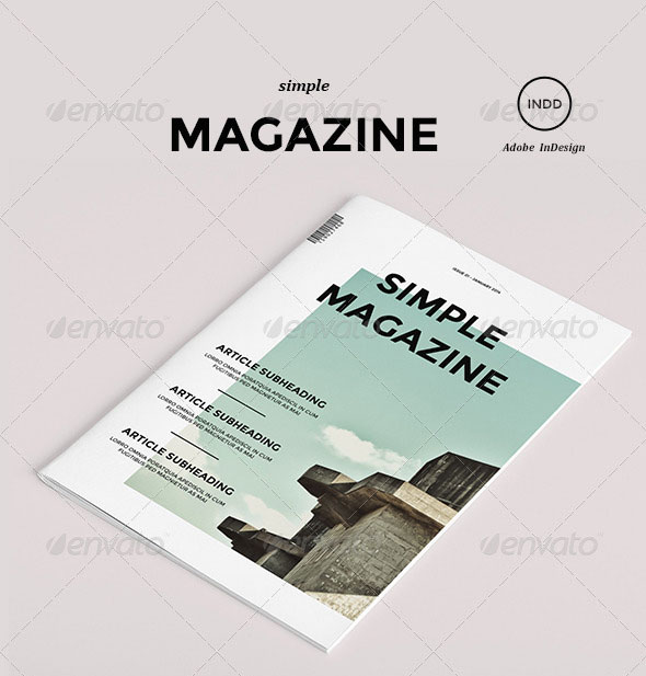 35 best magazine template designs 2019