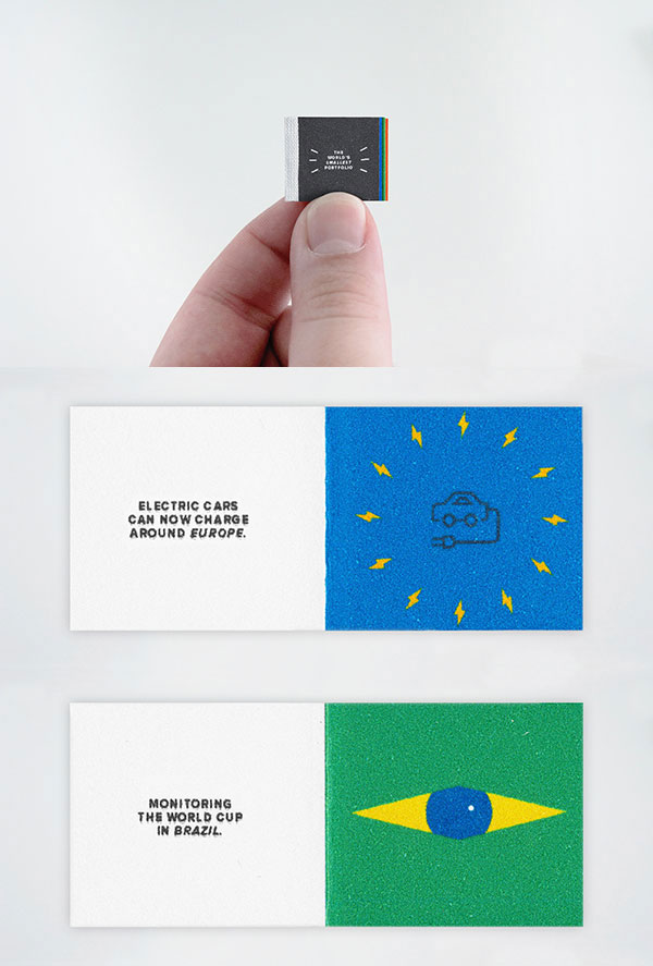 The World's Smallest Portfolio