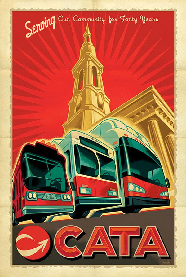 CATA Transit Poster