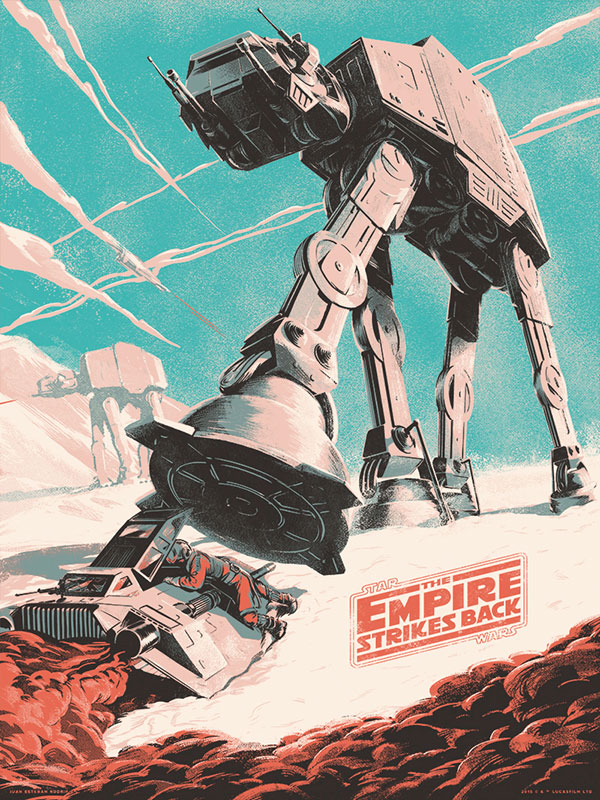 Star Wars Poster (The Empire Strikes Back)