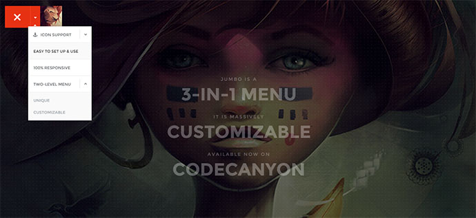 jumbo menu