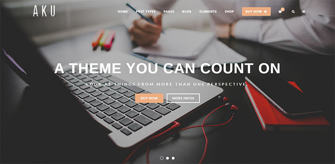 Powerful and Easy WordPress Theme