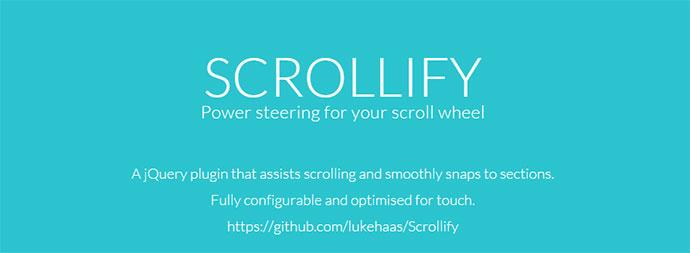 Scrollify