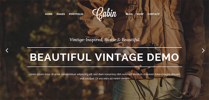 A Beautiful Vintage-Inspired Theme