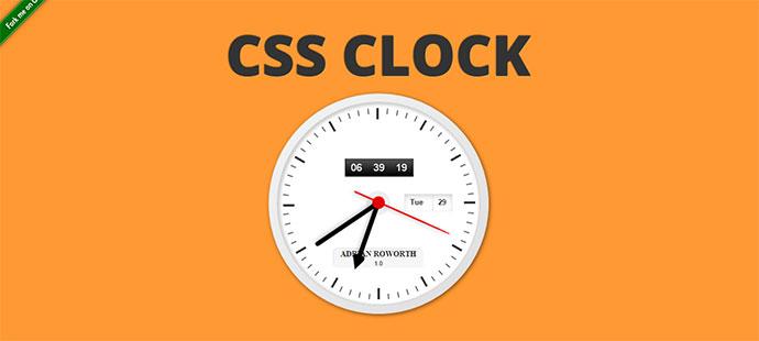 CSSclock