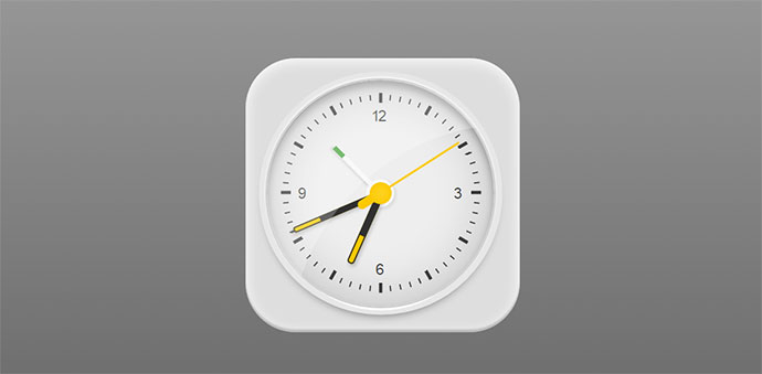 Braun clock created in pure HTML and CSS for fun.