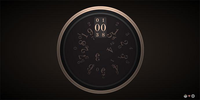 CSS Rotary Clock