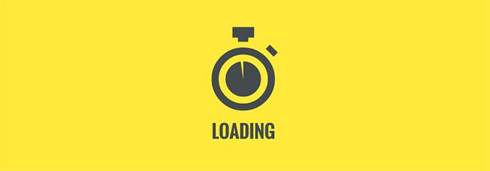SVG Stopwatch Loader