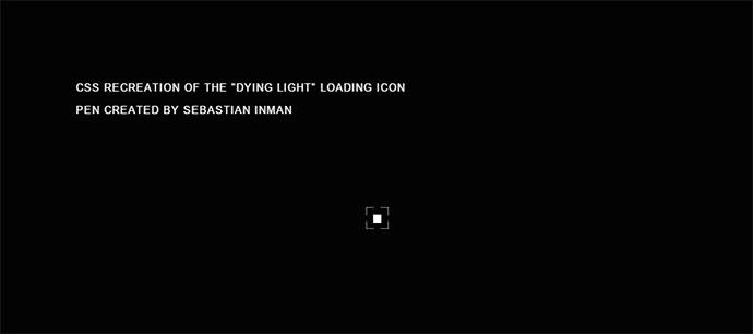 Dying Light Loading Indicator