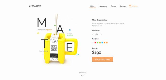 Altomate E-commerce concept.