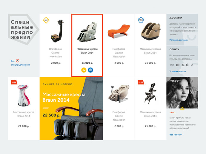 40 attractive e commerce product page card ui designs for Online store design