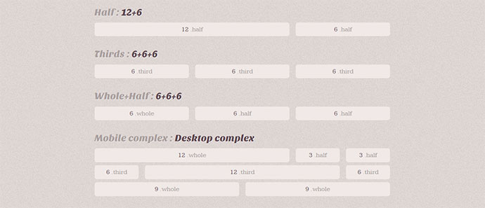 a mobile first responsive grid