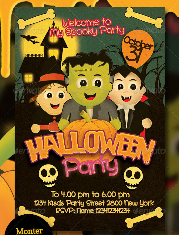 Free Halloween Flyer Templates Word Halloween Flyer Templates For