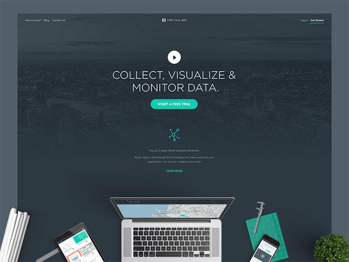 First Mile Geo - Homepage 2nd Version (WIP)