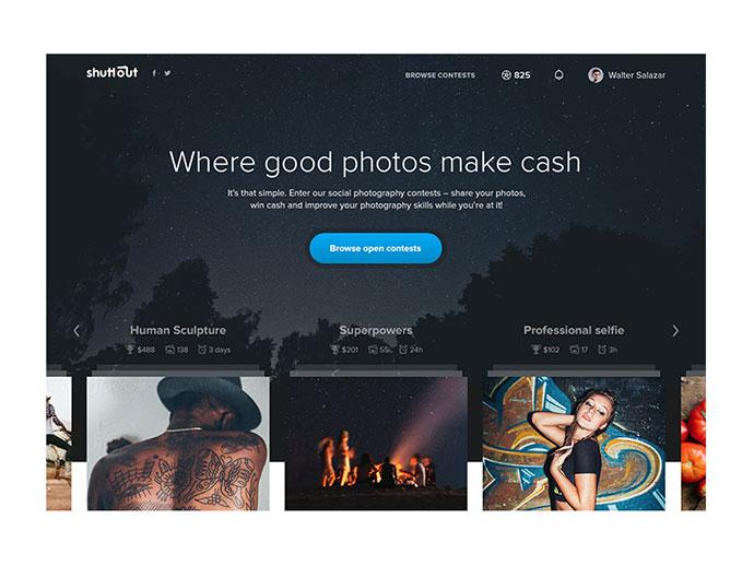 Shuttout Homepage