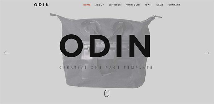 Multi Concept / Single Page WordPress Theme