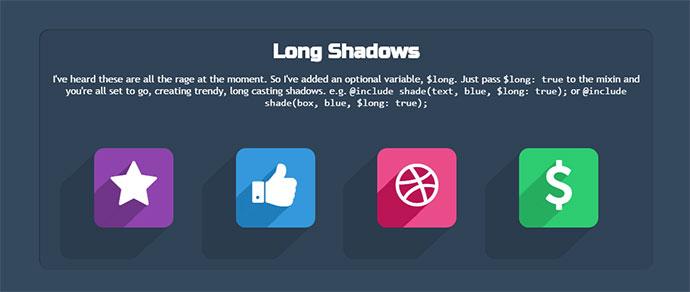 shadow mixin