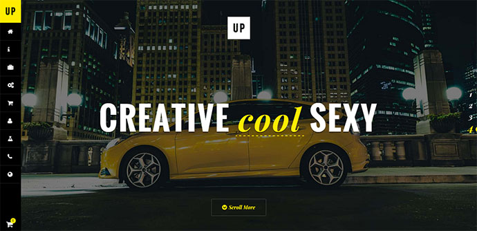Creative One Page WordPress Theme