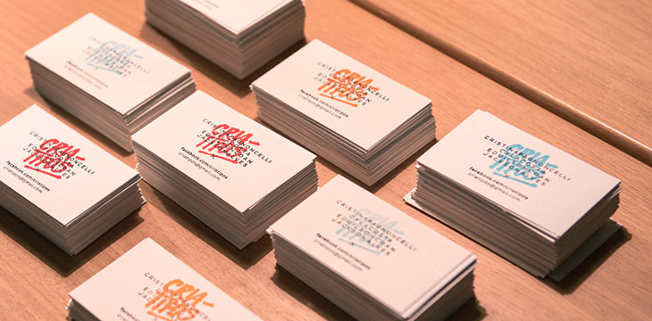 30 Insanely Cool Stamped Business Cards Web Graphic Design Bashooka