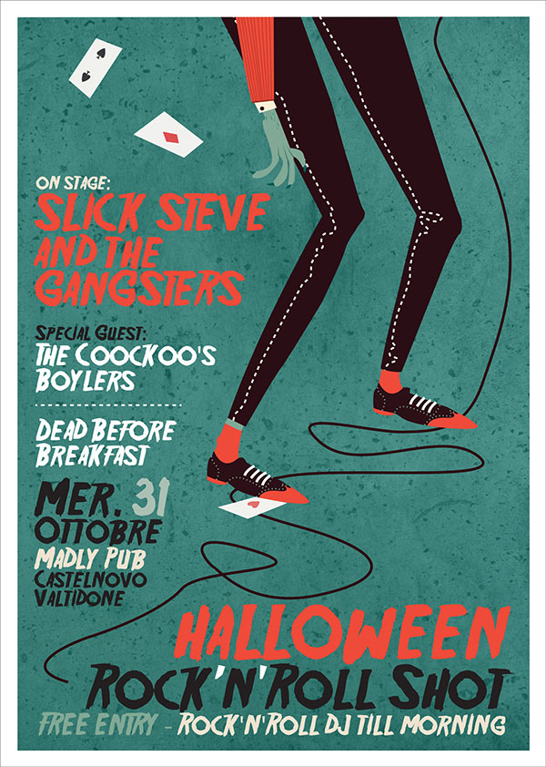 Halloween Night - Gig Poster