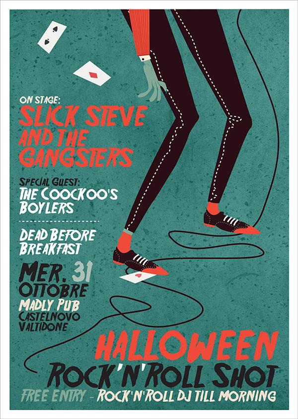 Halloween Night - Gig Poster