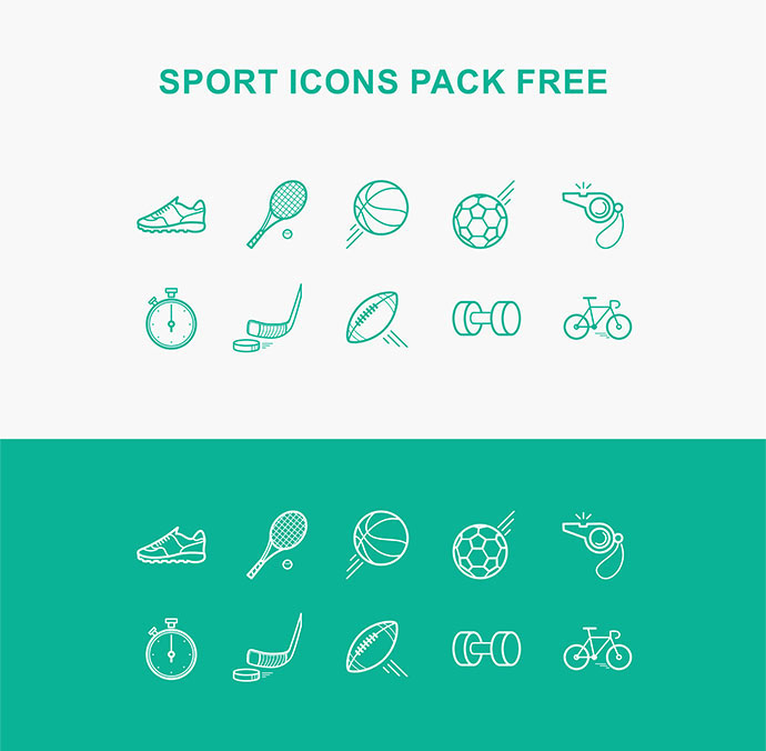 Sport icon pack (free)