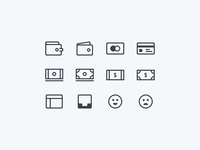 Financial Icons (Freebie)