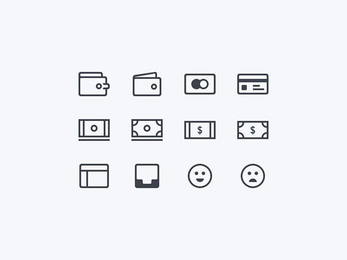 Financial Icons (Freebie)