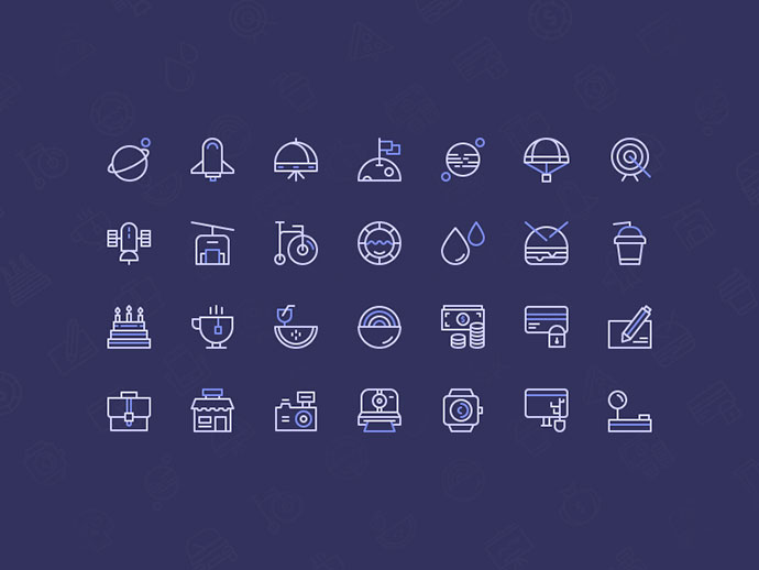 Freebie: Birply icons set