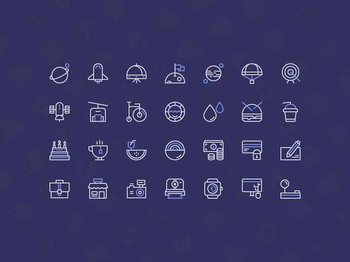 Freebie: Birply icons set
