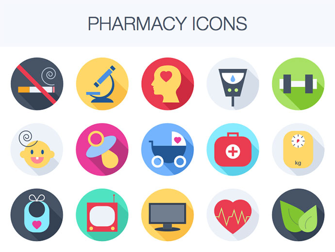 Freebie: Pharmacy Icons
