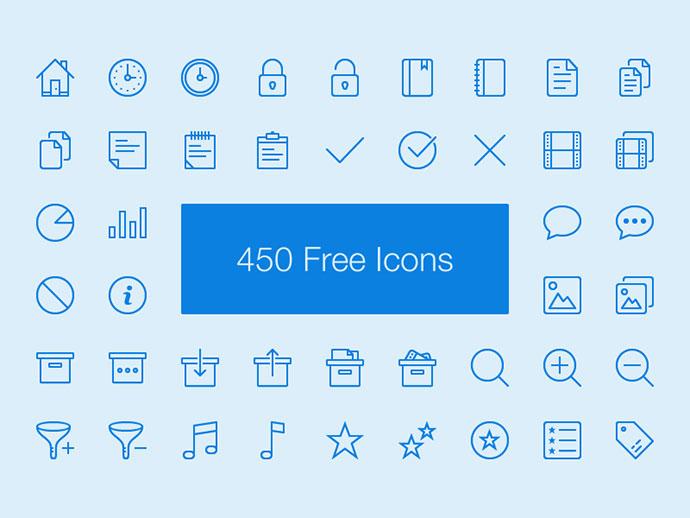 2015 Awesome Free Icon Sets Web Graphic Design Bashooka