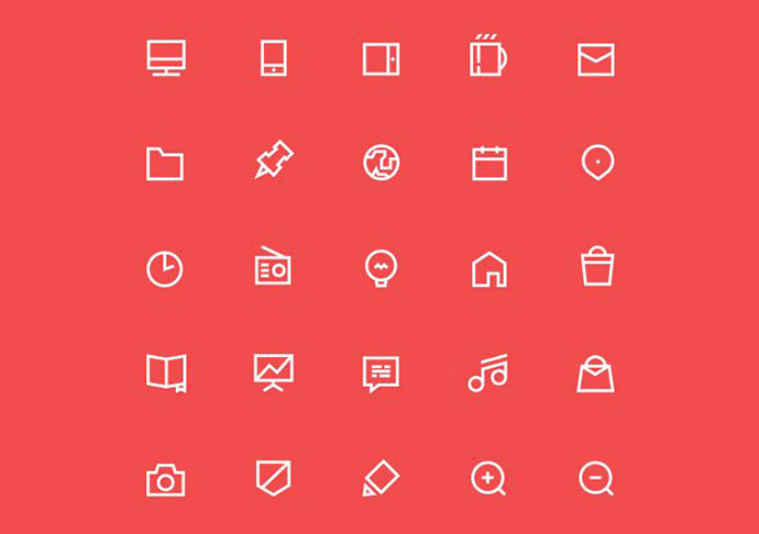 Free 55 icons set