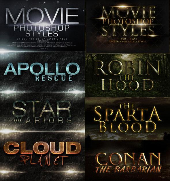 44 estilos de película