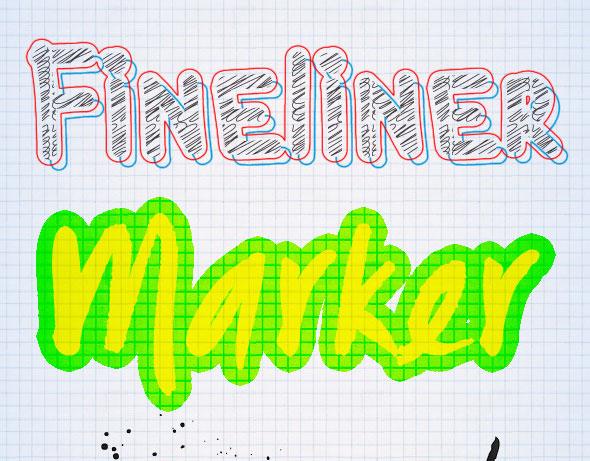 Photoshop Text Styles / Art Supply