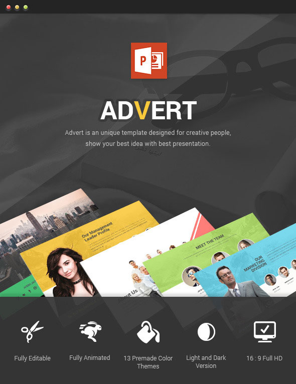 Advert - Powerpoint Template