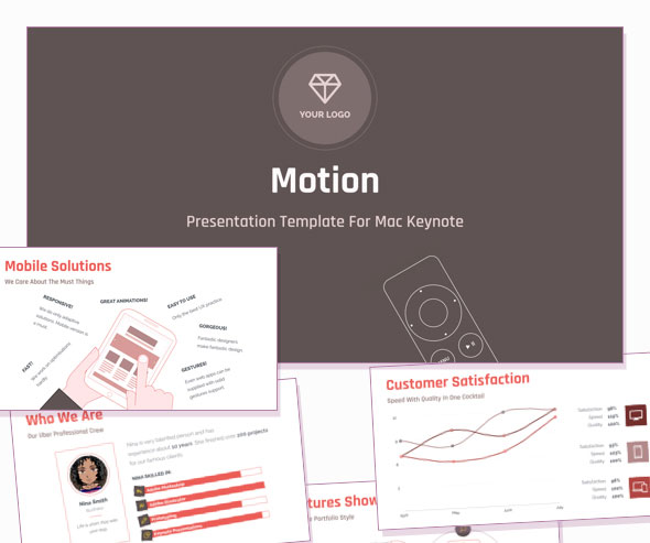 Motion — Creative All-purpose PowerPoint Template