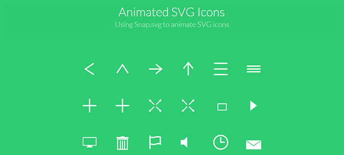 animated svg icon